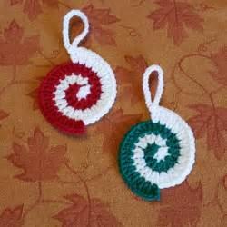 crochet decorations thegirllovesyarn crochet ornaments crochet