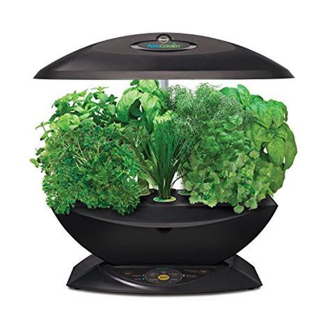 indoor herb garden kit with grow light aerogarden 7 with gourmet herb seed kit buy in