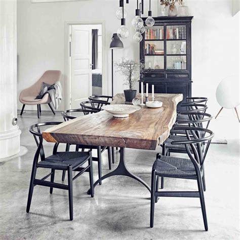 wishbone dining chair black ch24 wishbone chair black edition