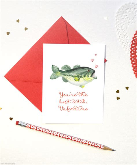 S Day Card Template Fishes by Fish S Day Cards Mospens Studio