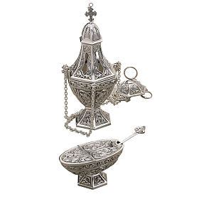 thurible and boat thurible and boat by molina silver brass online sales