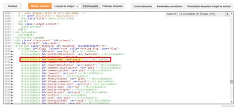tutorial membuat index html cara membuat breadcrumbs tidak terindex google di blog