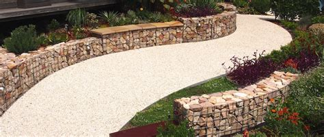 Gabion Garden Wall How To Build A Curved Gabion Wall Gardendrum