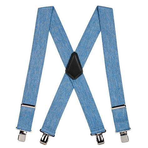 As Suspender Denim denim suspenders 2 inch wide suspenderstore