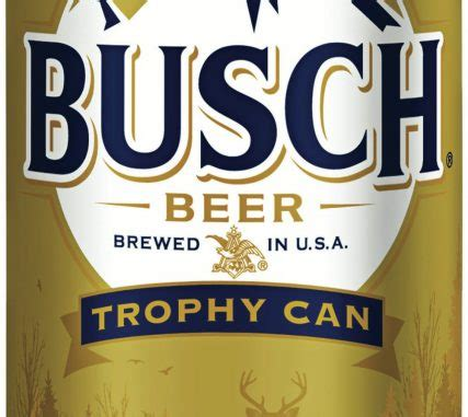 busch light gold can 2017 busch refreshes popular trophy can program