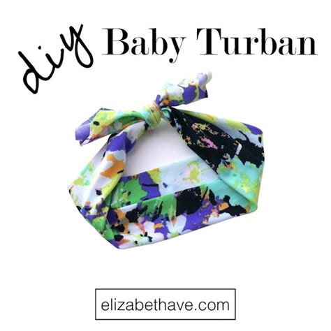 tutorial buat turban baby easy baby turban tutorial one stitch sewing tutorial for