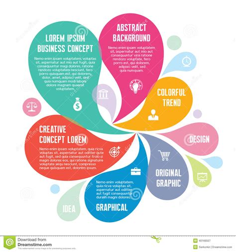 imagenes creativas web infographic concept abstract background creative