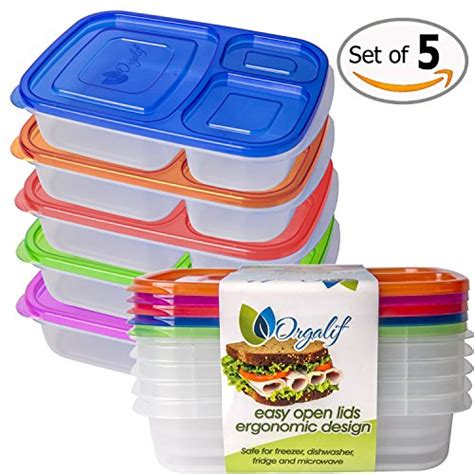 Moorlife Baby Meal Box Sale orgalif lunch container for 3 comparment reusable