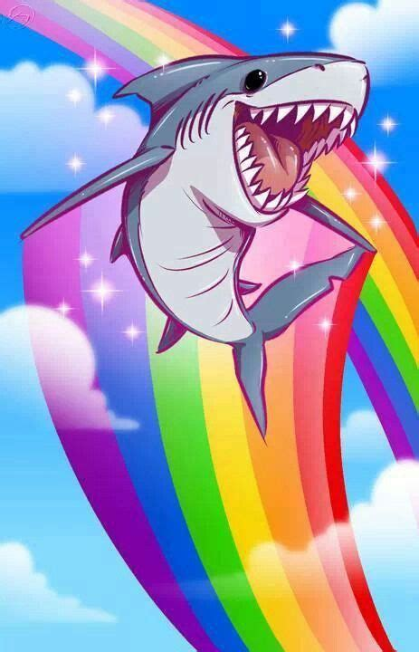 wallpaper rainbow cartoon phone wallpaper shark rainbow cartoon phone wallpapers