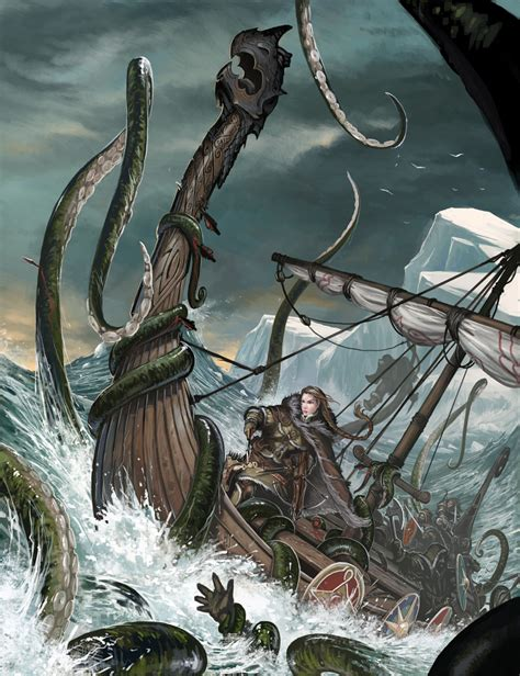 kraken by benwootten on deviantart