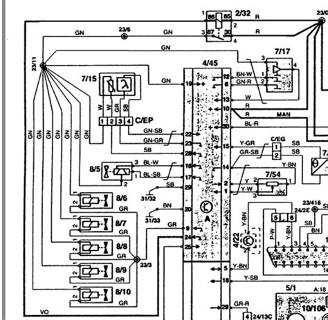 electrical wiring diagram   volvo  wiring