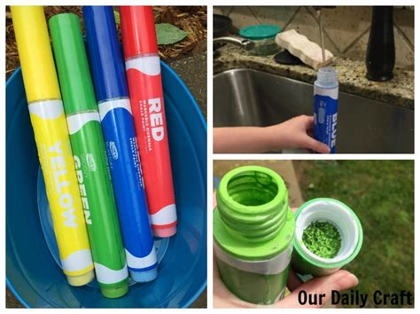 chalk paint markers a find for summer chalk paint markers our daily craft