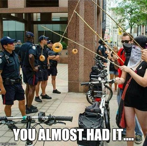 You Almost Had It Meme - cop fishing imgflip