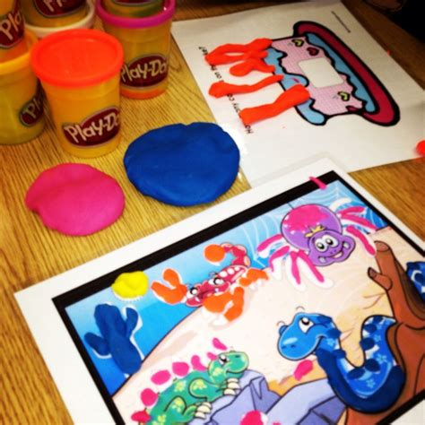 28 best images about play dough mats on