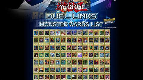 yugioh alle decks yu gi oh duel links card list all cards