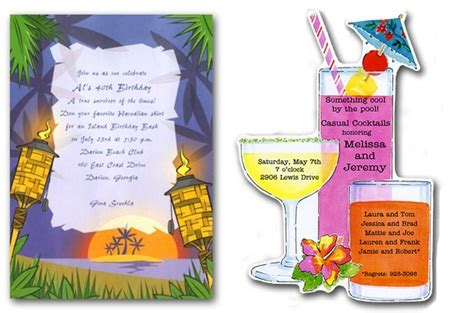 party themes for adults summer summer party ideas for adults invites decorations food