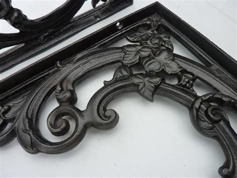 cast iron stool bracket large 16 quot ornate cast iron high level toilet seat brackets