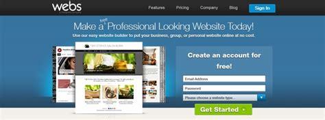best website builder 2014 best free website builders design dazzlingdesign