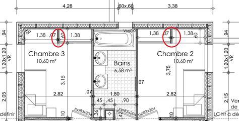 taille minimale chambre dessiner des plans fonctionnels conseils thermiques