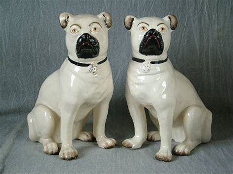 pugs for sale in staffordshire pair staffordshire seated leg free pugs for sale antiques classifieds