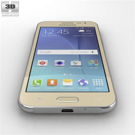 Samsung J2 Free samsung galaxy j2 gold 3d model humster3d