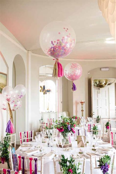 Wedding Balloons Ideas by Creative Balloon With Tassel Tails Wedding Ideas