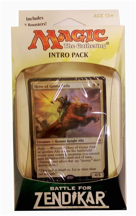 magic deck kaufen battle for zendikar intro pack englisch mtg deck magic