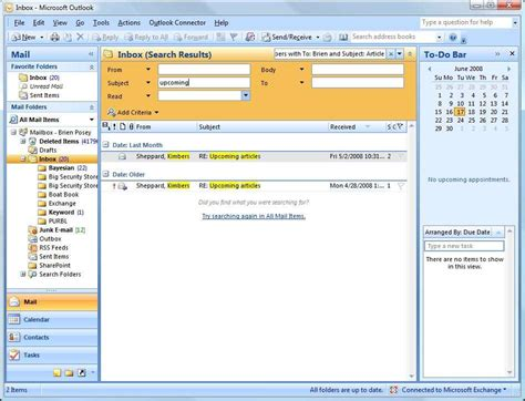 Outlook Email Search Tool How To Make Outlook Work Better For You Office Suite