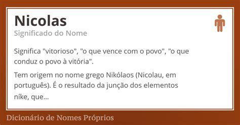 layout o que significa em portugues significado do nome nicolas