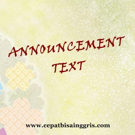 pengertian biography text bahasa inggris pengertian dan contoh announcement text belajar bahasa