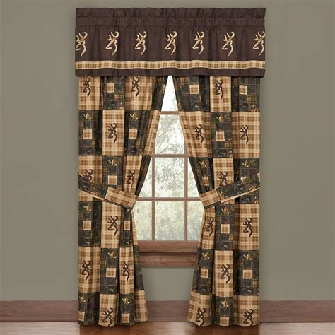 browning curtains western rustic curtains drapes valances pillows