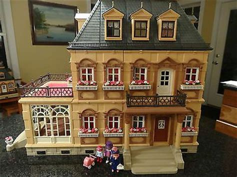 playmobile dolls house playmobil 5300 victorian mansion google search dolls houses pinterest