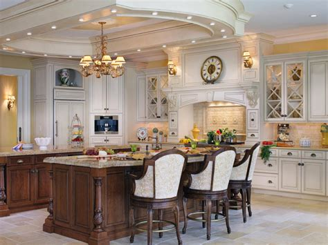 elegant kitchen islands luxury kitchens hgtv