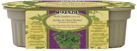 herb garden grow kit walmart canada