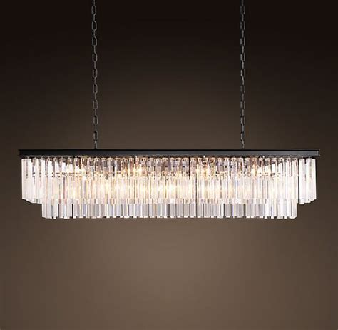large rectangular chandelier 1920s odeon glass fringe rectangular chandelier large iron light fixtures