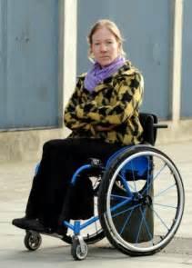 Wheel Chair Bound wheelchair bound motorist finds car in disabled