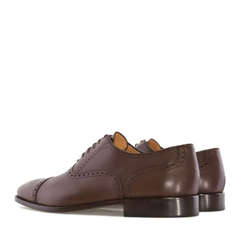 oxford shoes style oxford style shoes in brown leather alonai 179 90