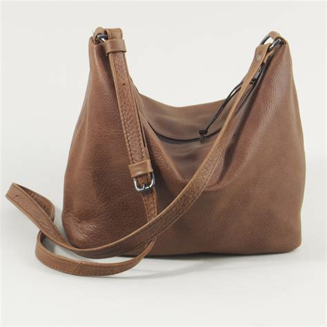 Sling Bag Lula Basic Brown the sling bag handmade leather henry tomkins