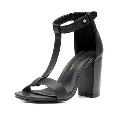 black block sandals black block heel t sandals