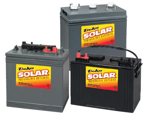 lasting 12 volt battery for solar panels deka solar batteries power solutions