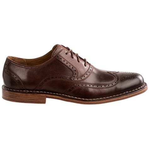 wingtip shoes sebago brattle ii leather wingtip shoes for 8134x