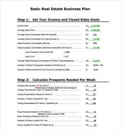 Real Estate Business Plan Template Pdf by Sle Real Estate Business Plan Template 6 Free