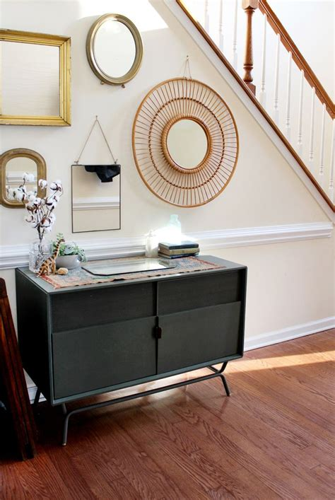 diy cozy home decorating home decorating diy projects make a gallery mirror wall pick the perfect wall that will feel