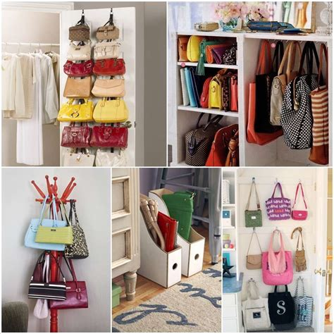 How To Store Handbags In Wardrobe by 17 Clever Handbag Storage Ideas And Solutions