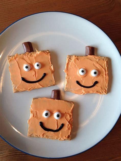 graham cracker halloween treats crafty morning