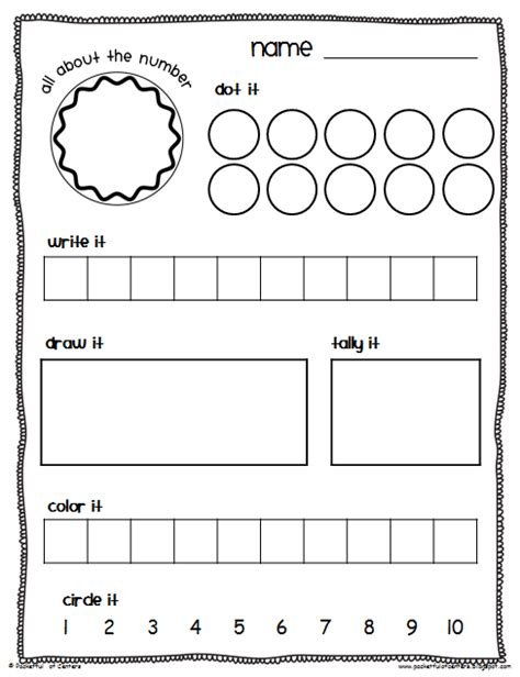 Math Center Worksheets by Pocketful Of Centers Math Center Time Savers Packet