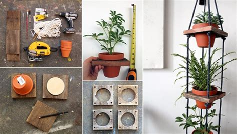 Hanging Pottery Planters by Diy Tiered Hanging Terracotta Pots Home Design Garden