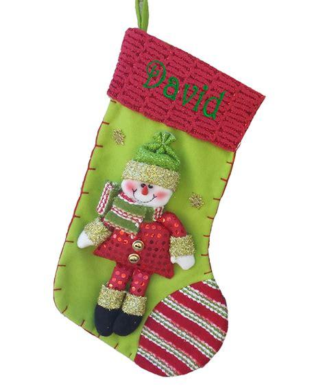 christmas stocking raspberry lime snowman christmas stocking collection