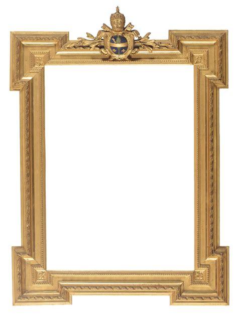 cornici per ste antiche cornice interamente dorata e decorata stemma papale