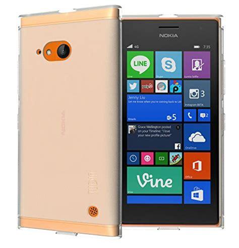 Casing Nokia 5200 Putih galleon tudia lite tpu bumper protective for nokia lumia 730 frosted clear